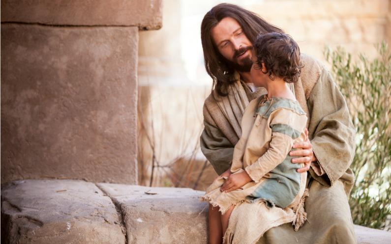 イエスに従う子ども