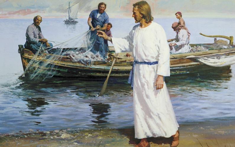 イエスに従うペテロ
