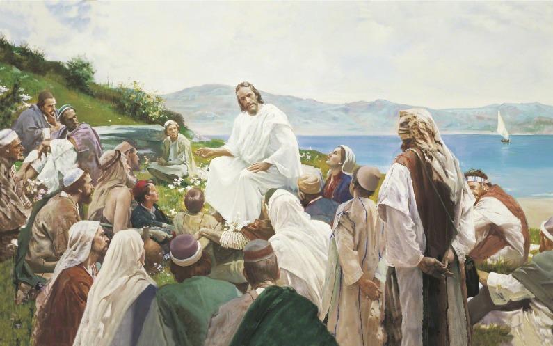 人々に教えるイエス・キリスト
