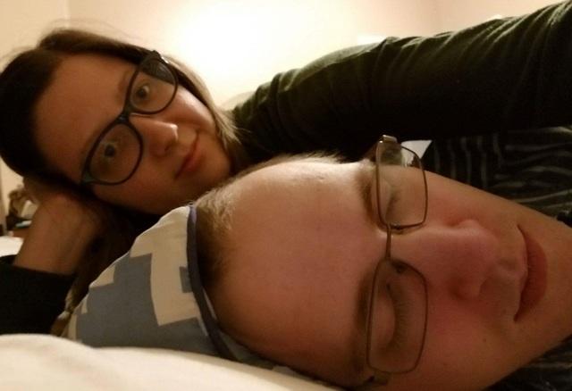 がんの夫と支える妻