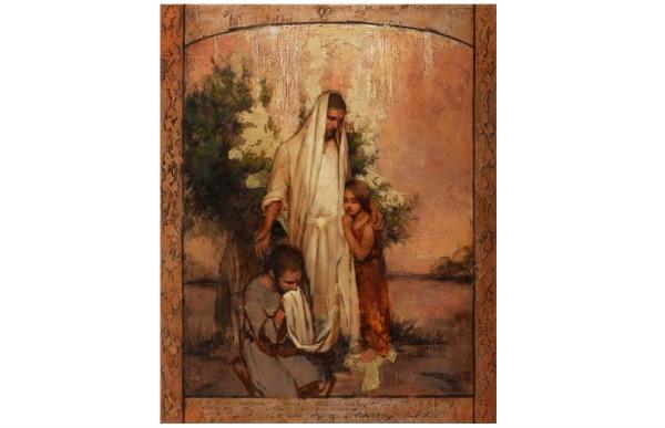 アニー・ヘンリー・ネイダ―が描くキリストの絵画