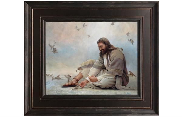 グレッグ・オルセンが描いたキリストの絵画