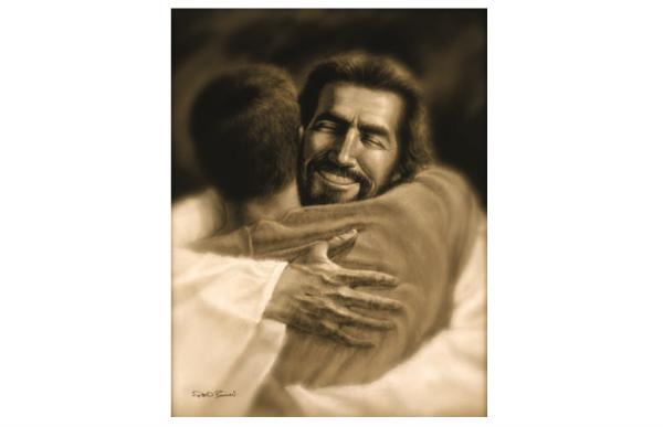 デビッド・ボウマンが描くキリストの絵画