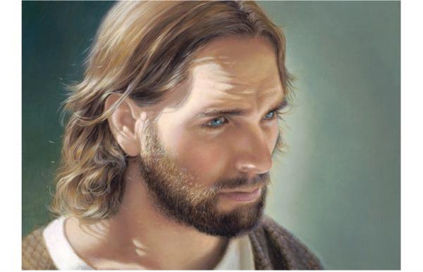 リズ・レモン・スウィンドルが描くキリストの絵画