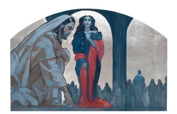 ローズ・デートック・ドールが描くキリストの絵画