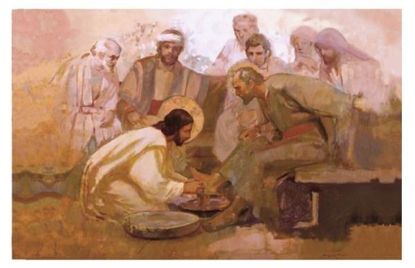 J・カーク・リチャーズが描くキリストの絵画